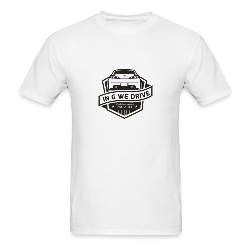 In G We Drive - G35 coupe - Men's T-Shirt