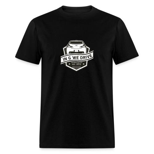 In G We Drive - G37 sedan - Men's T-Shirt