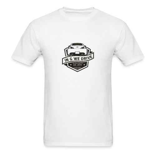 In G We Drive - G37 coupe - Men's T-Shirt