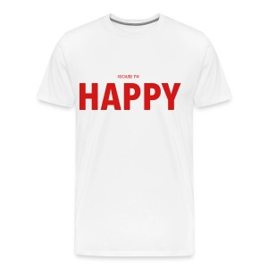 Happy or Nahh? - Men's Premium T-Shirt