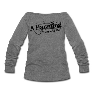 AHWWG Black Logo - Women's Wideneck Sweatshirt