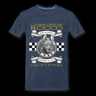 T-Shirts ~ Men's Premium T-Shirt ~ K9 Rocco Memorial T Shirt. larger sizes.
