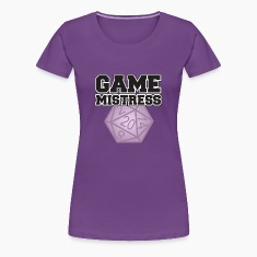 Game Mistress Women's T-Shirts