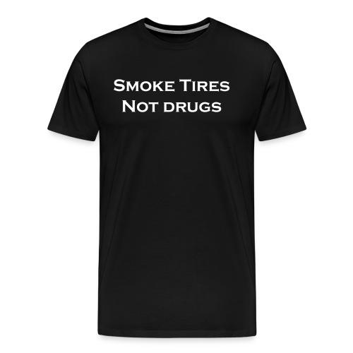 Smoke tires - Men's Premium T-Shirt