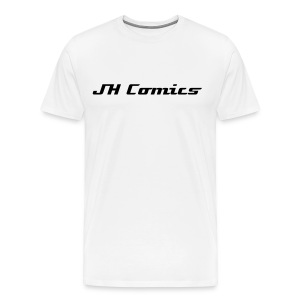 JH Comics Tshirt White - Men's Premium T-Shirt
