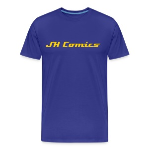 JH Comics tshirt Blue - Men's Premium T-Shirt