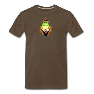 Very Dapper Frog - Men's Premium T-Shirt