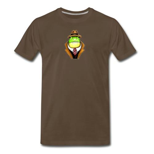 Very Dapper Frog - Men's Premium T-Shirt