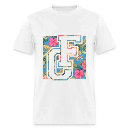 F-ORT Floral Varsity Logo T-Shirt - Men's T-Shirt