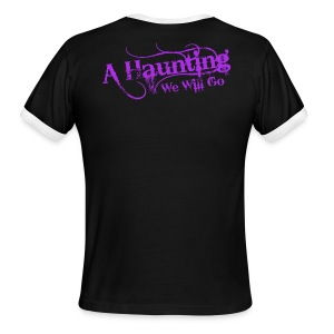 AHWWG Purple Logo - Men's Ringer T-Shirt
