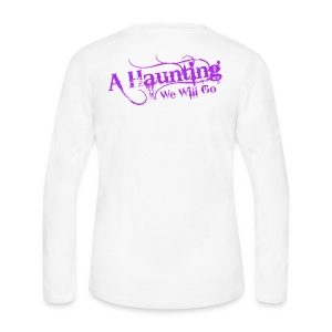 AHWWG Purple Logo - Women's Long Sleeve Jersey T-Shirt