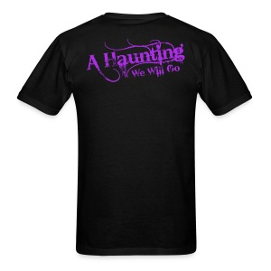 AHWWG Purple Logo - Men's T-Shirt