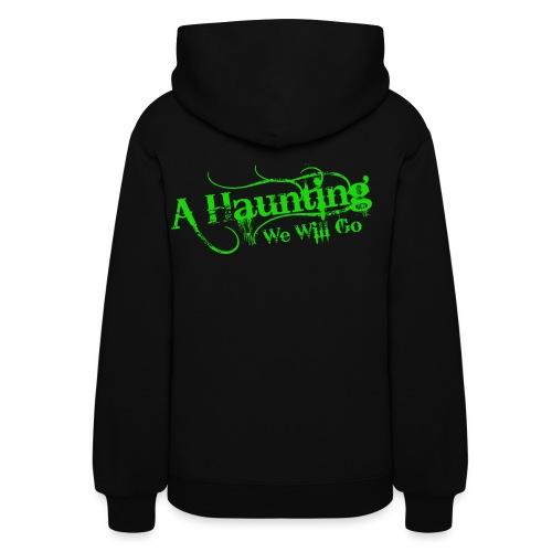 AHWWG green Logo - Women's Hoodie