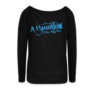 AHWWG Blue Logo - Women's Wideneck Sweatshirt
