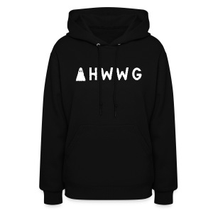 AHWWG White Logo Double Sided - Women's Hoodie