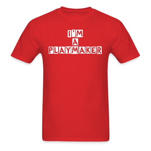 I'm A Playmaker Men's T-shirt - Men's T-Shirt