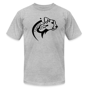 Iran Cheetah - Men's T-Shirt by American Apparel