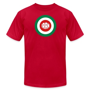IRAN Mod- Tee - Men's T-Shirt by American Apparel