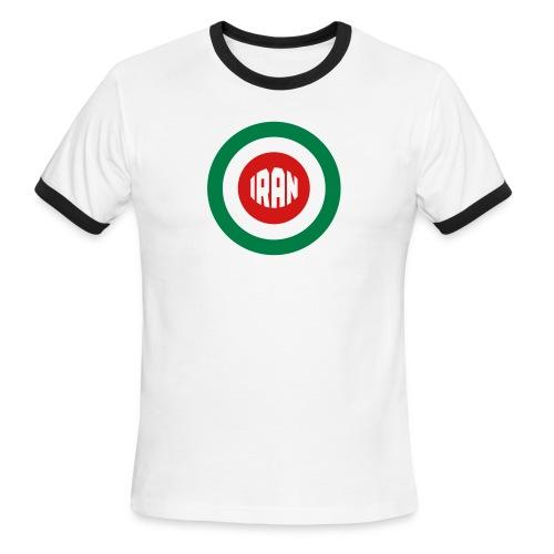 IRAN Mod- Men's Ringer - Men's Ringer T-Shirt