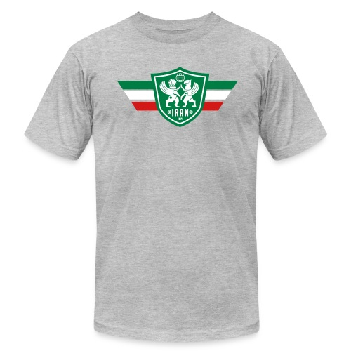 Iran Flag - Men's Tee - Men's T-Shirt by American Apparel