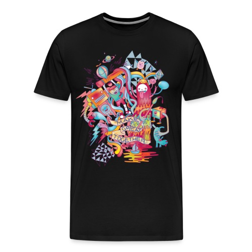Together We're Awesome! - Men's Premium T-Shirt