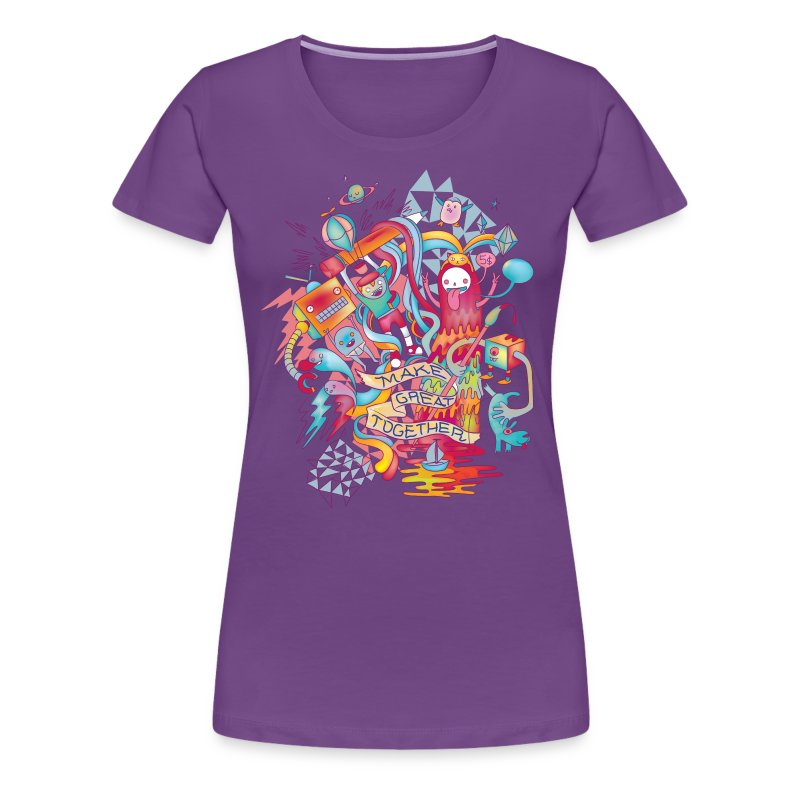 Together We're Awesome! - Women's Premium T-Shirt