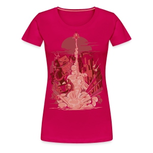 Smash! Zap!! Zooom!! - Women's Premium T-Shirt
