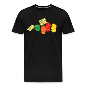 Stop Gummibear Cruelty - Men's Premium T-Shirt