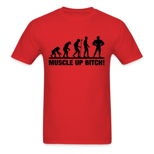 Muscle up shirt - Men's T-Shirt