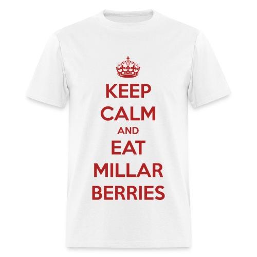 Keep Calm and Eat Millar Berries (Men's T) - Men's T-Shirt