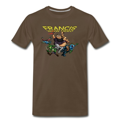 tshirt-francis-no-background.png - Men's Premium T-Shirt