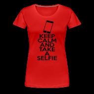 Women's T-Shirts ~ Women's Premium T-Shirt ~ Selfie