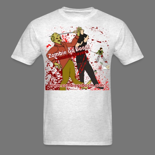 Zombie Go Boom: Zombie Slayers  - Men's T-Shirt