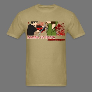 Zombie Go Boom: Zombie Slayers 2  - Men's T-Shirt