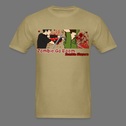 Zombie Go Boom: Zombie Slayers 2  - Men's T-Shirt
