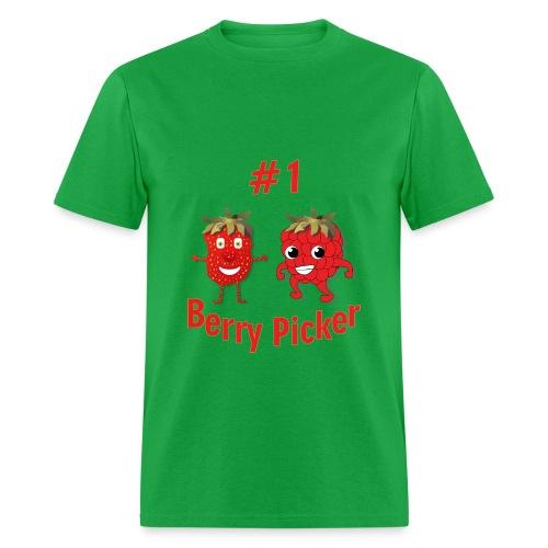 #1 Berry Picker (Men's T) - Men's T-Shirt