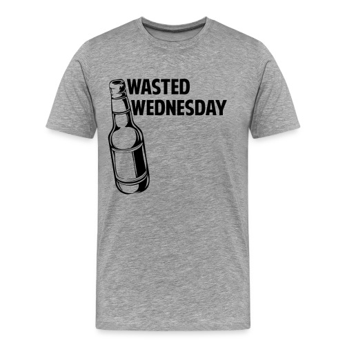 Wasted Wednesday Shirt - Men's Premium T-Shirt