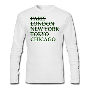 Paris London Nyc Tokyo Chicago - Men's Long Sleeve T-Shirt by Next Level