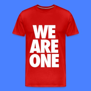 We Are One T-Shirts - Men's Premium T-Shirt