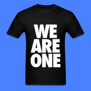 We Are One T-Shirts - Men's T-Shirt