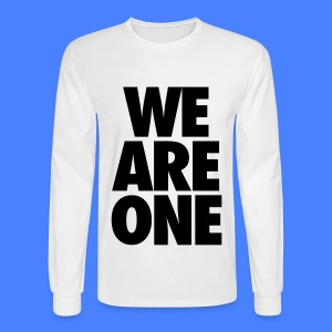 We Are One Long Sleeve Shirts - Men's Long Sleeve T-Shirt