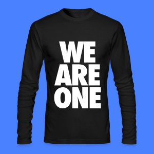 We Are One Long Sleeve Shirts - Men's Long Sleeve T-Shirt by Next Level