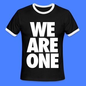 We Are One T-Shirts - Men's Ringer T-Shirt