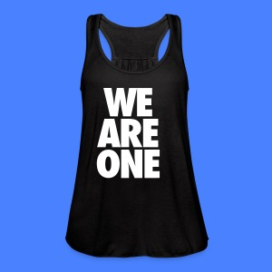 We Are One Tanks - Women's Flowy Tank Top by Bella