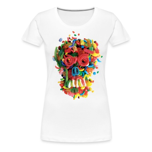 Death and Tooth Decay - Women's Premium T-Shirt