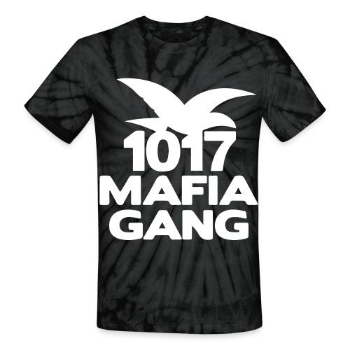 1017MafiaGang | WHITE | TeeDye - Unisex Tie Dye T-Shirt