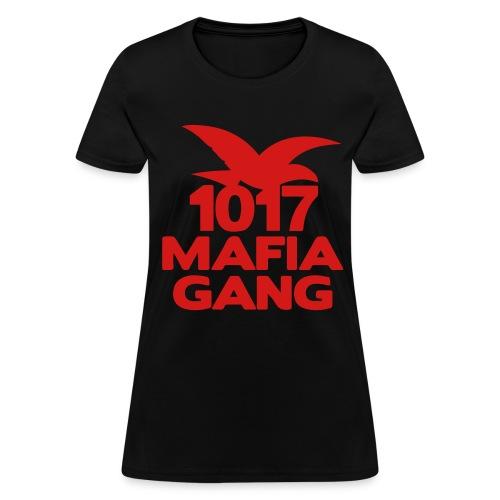 1017MafiaGangTeeWM | REDLogo - Women's T-Shirt
