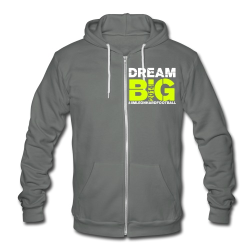 2014 Jim Leonhard Football Skills Camp - Unisex Fleece Zip Hoodie