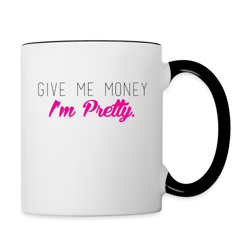 I'm Pretty - Contrast Coffee Mug