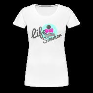 Women's T-Shirts ~ Women's Premium T-Shirt ~ Lifesimmer Joystick Logo
